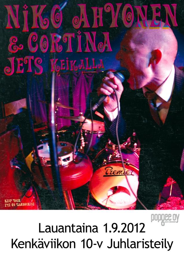Esiintymässä: Niko Ahvonen & Cortina Jets